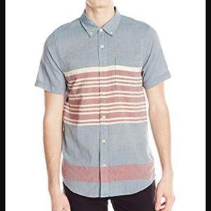 O'NEILL Men's Modern Fit Short Sleeve Woven Shirt